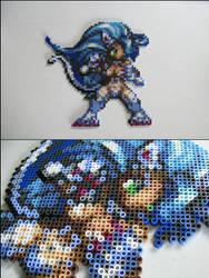 Felicia from Darkstalkers bead sprite by 8bitcraft