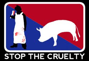 Stop the cruelty by rosmarinkraut