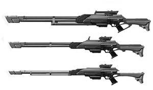 sniper rifle by Gin-sensei
