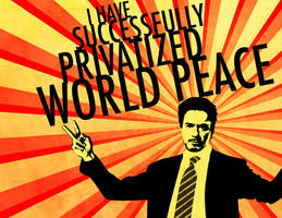 World Peace From Tony Stark by flamable77