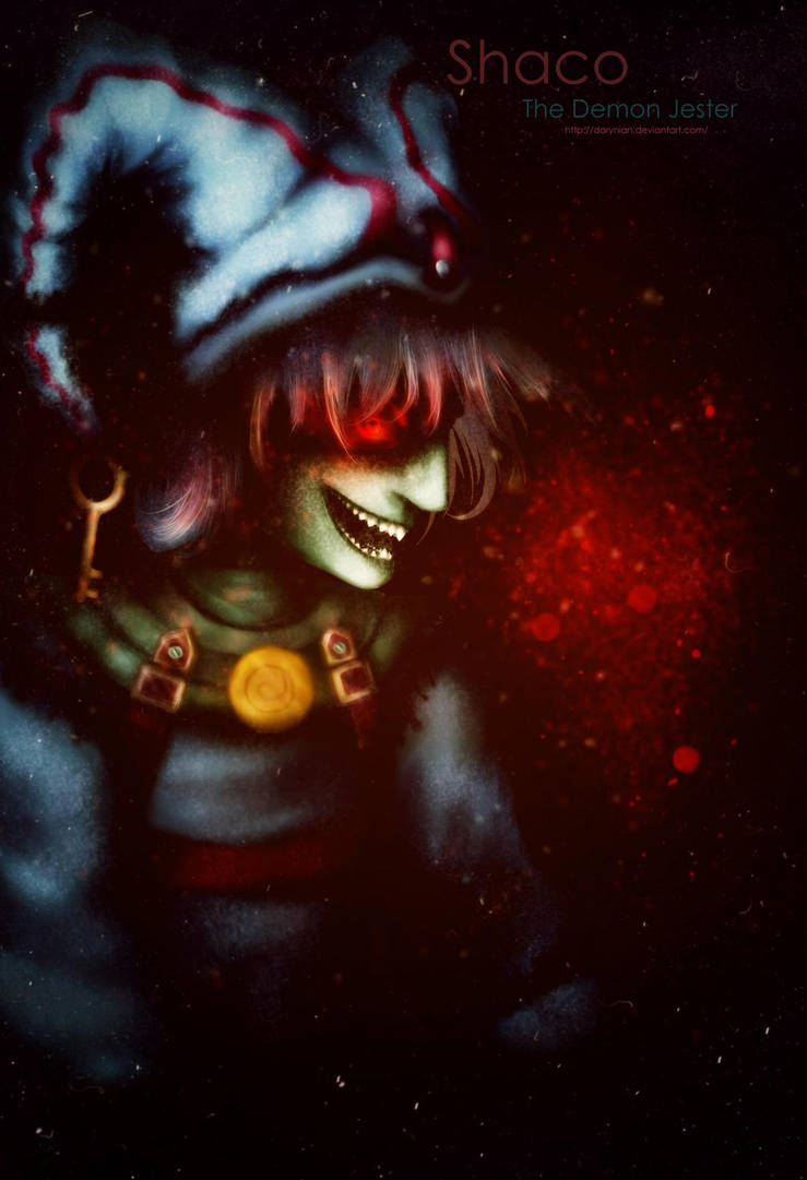League Of Legends Shaco The Demon Jester By Darynian On Deviantart
