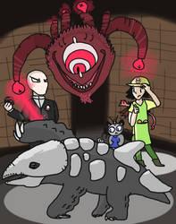 DnD x Pokemon: Bottlemonsters by Dwoll