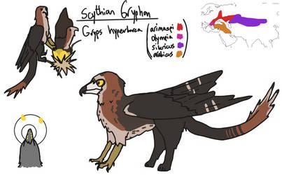 Myth Stuff - Scythian 'Common' Gryphons by Dwoll