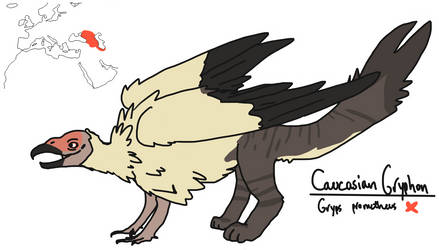 Myth Stuff - Caucasian Gryphon by Dwoll