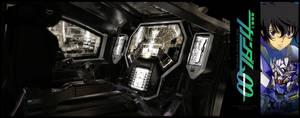 C4D-Gundam Exia Cockpit - 001 by fldizayn