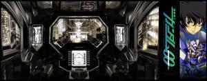 C4D-Gundam Exia Cockpit - 003 by fldizayn