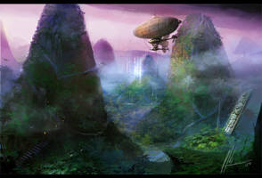 Lost temple by neisbeis