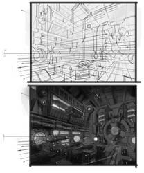 sci fi tutorial sketchs by neisbeis