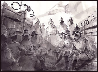 trench Von Fisher by neisbeis