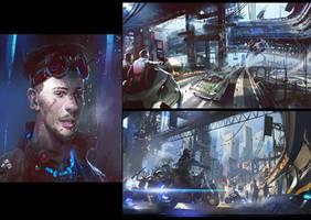 Cyberpunk by neisbeis