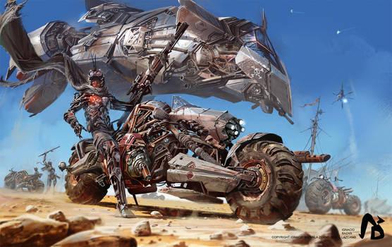 Desert Bike Rebel Camp by neisbeis