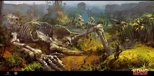 Skull Island concept art 5 by neisbeis