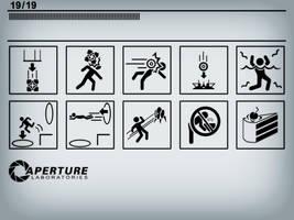 Portal Icons, Part I by CalicoStonewolf