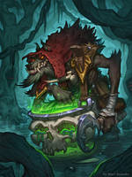 Swampy Worgen by Escachx