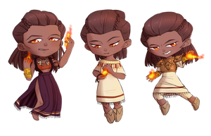 Inhe Chibis by isi-a