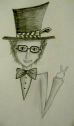 A Hipster Hatter by JokerrLaughs