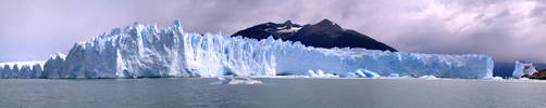 Glacier Panorama Number 2 by aeremita