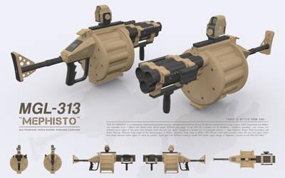 MGL-313 MEPHISTO - Multipurpose Grenade Launcher by cr8g