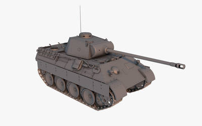 Panzer V. Ausf. D - Panther  - WIP by cr8g