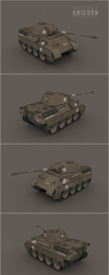 Unicorn: Captured German Panther D (all sides) by cr8g