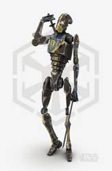 Star Wars - Droid Commando by cr8g