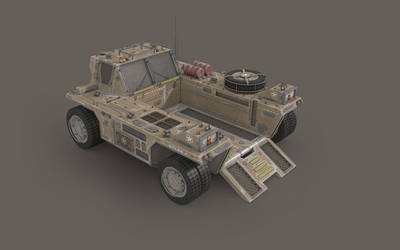 A.T.L.A.S. Heavy Transporter by cr8g