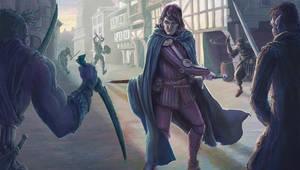 Swordsman by BrentWoodside