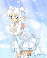 Sailor Snowflake Prize drawn by Drachea Rannak by Sugar-Senshi