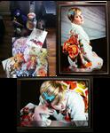 Animethon 19 Loot! XD by Sugar-Senshi