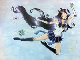 Sailor Astera PLANET GO BOOM by Sugar-Senshi