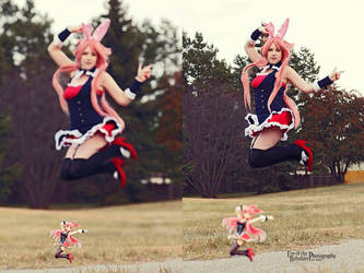 Kuro Usagi Cosplay by Sugar-Senshi