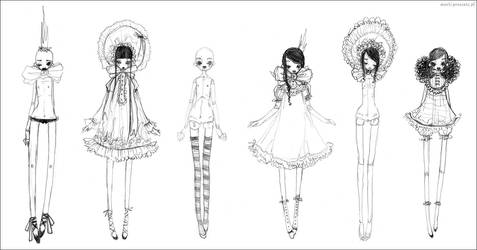 dolls by ball-jointed-Alice