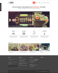 BigBang WordPress Theme by sandracz