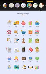 Shopping Icons by sandracz