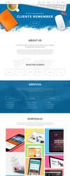 Superb Website Template by sandracz