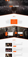 RoadRunners - A One-Page Music Theme by sandracz