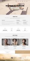 Phoebe - One Page Responsive WordPress Theme. by sandracz