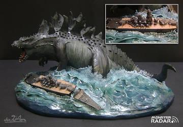 Godzilla by dAVidArts86