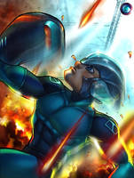 megaman tribute by dr-conz
