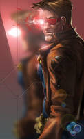 X-Men: Cyclops by dr-conz