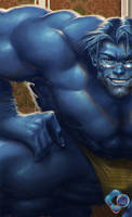 X-Men: Beast by dr-conz