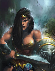 INJUSTICE REBIRTH: Wonder Woman by dr-conz