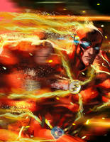 INJUSTICE REBIRTH: The Flash by dr-conz