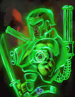 INJUSTICE REBIRTH: Green Lantern by dr-conz