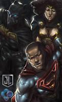 Black JLA by dr-conz