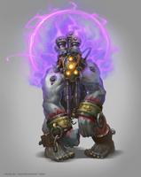 Mistic Orc Boss by e-danilov