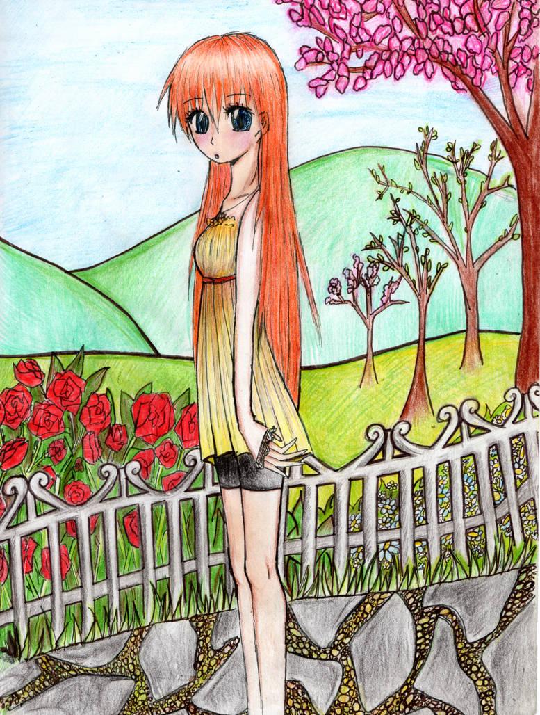 May and nature by mackyca