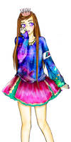 Danceroid-Ikura Galaxias! by mackyca