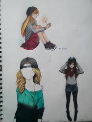 sketchbook by mackyca
