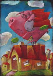 Pig by deshollinador